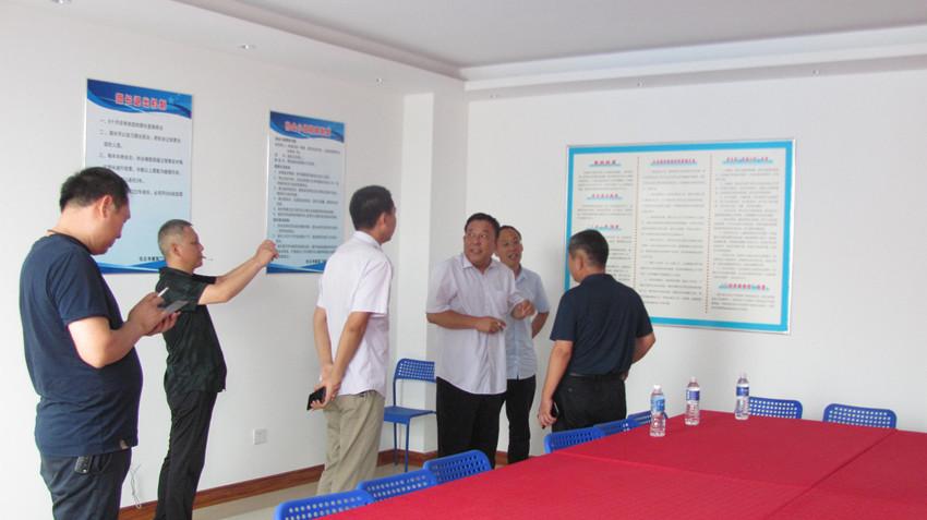 沧州工商联和任丘工商联来协会指导工作