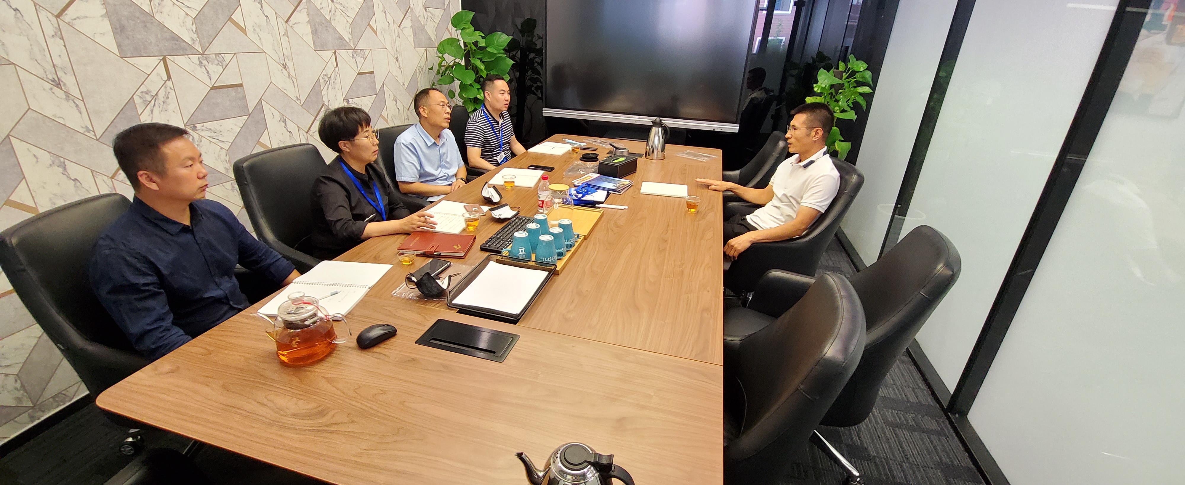 协会应沧州民营经济研究会会长吕玉峰的邀请前往雄安新区交流学习