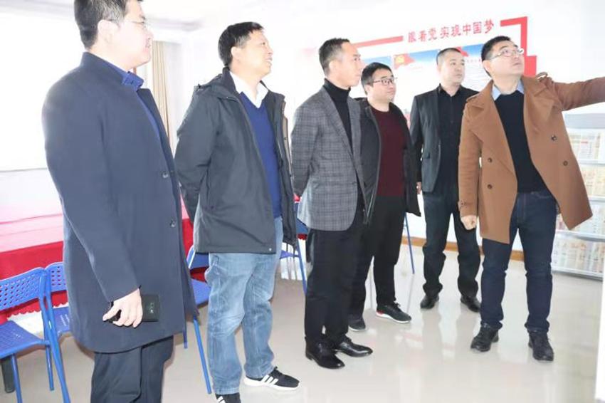 沧州市安徽商会一行到本协会参观学习